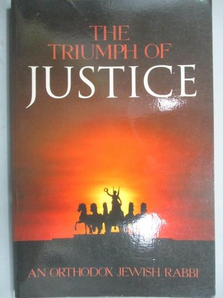 【書寶二手書T7/宗教_KDA】The Triumph of Justice_Not Available (NA)