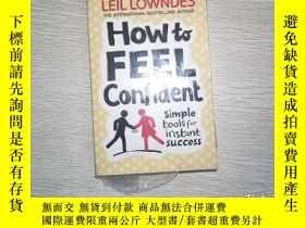 二手書博民逛書店How罕見To Feel Confident: Simple T