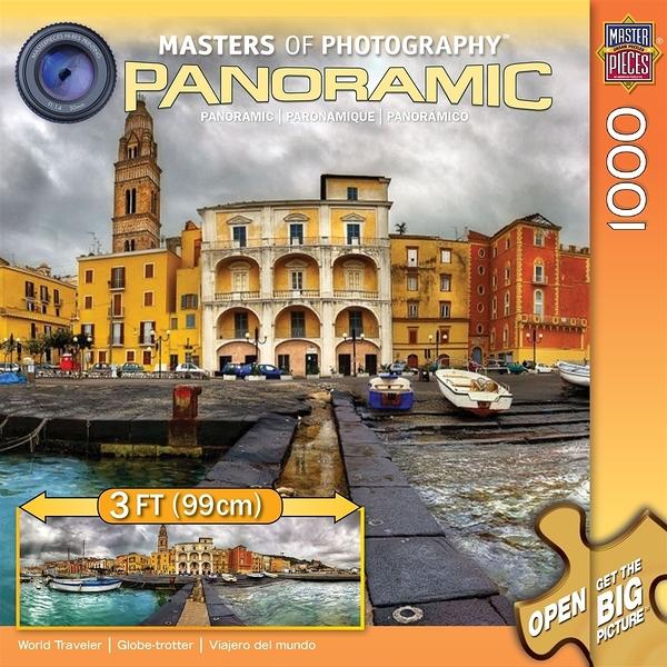 【KANGA GAMES】拼圖 全景攝影大師系列 - 世界旅行者 Masters of Photography Panoramic - World Traveler 1000片