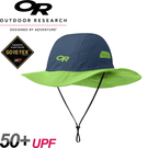 【Outdoor Research 美國 SEATTLE SOMBRERO 防水透氣大盤帽《藍/綠》】243505/GORE-TEX/吸濕排汗