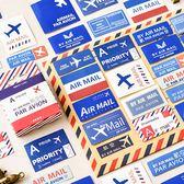 【BlueCat】陌墨航空信盒裝貼紙 手帳貼紙