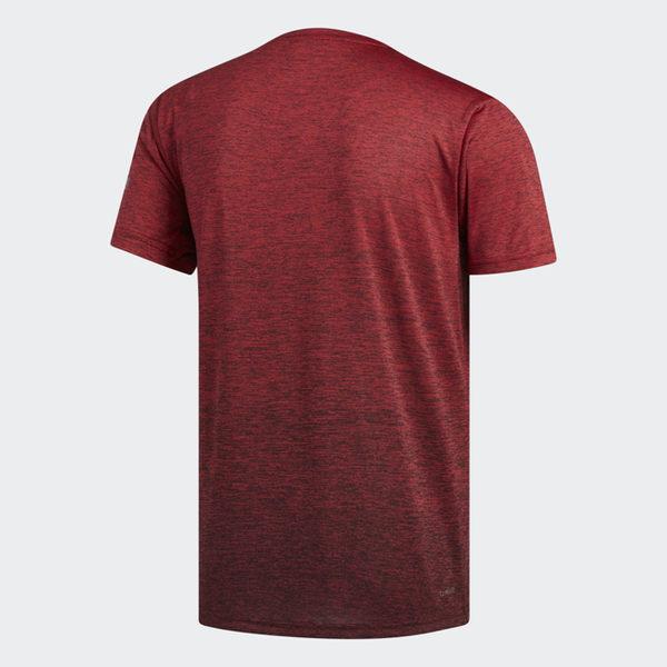ADIDAS FREELIFT GRADI 男裝 短袖 慢跑 訓練 吸濕 排汗 透氣 紅【運動世界】EC1090