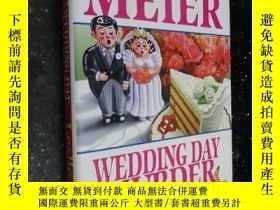 二手書博民逛書店Wedding罕見Day Murder 婚禮日謀殺(英文原版 硬