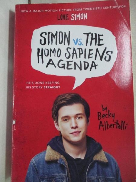 【書寶二手書T1/原文小說_CG2】Simon vs. the Homo Sapiens Agenda_Albertalli, Becky