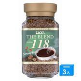 UCC 118精緻即溶咖啡100G*3【愛買】