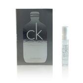 Calvin Klein CK ONE 2018白金未來限量版中性淡香水 針管 1.2ml【UR8D】