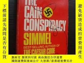 二手書博民逛書店The罕見Cain Conspiracy 《凱恩的陰謀》 三面刷