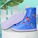 兒童防水鞋套雨天女防滑雨鞋套加厚耐磨底防雨腳套男童雨靴套上學 蘿莉新品