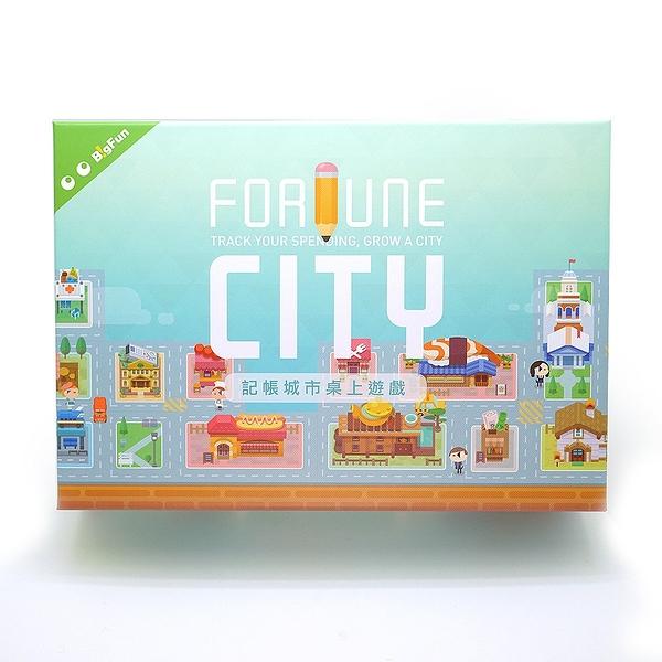【 BigFun 大玩桌遊 】記帳城市╭★ JOYBUS玩具百貨