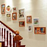 歐式樓梯裝飾畫現代簡約創意客廳背景牆掛畫玄關走廊過道壁畫組合 樂活生活館