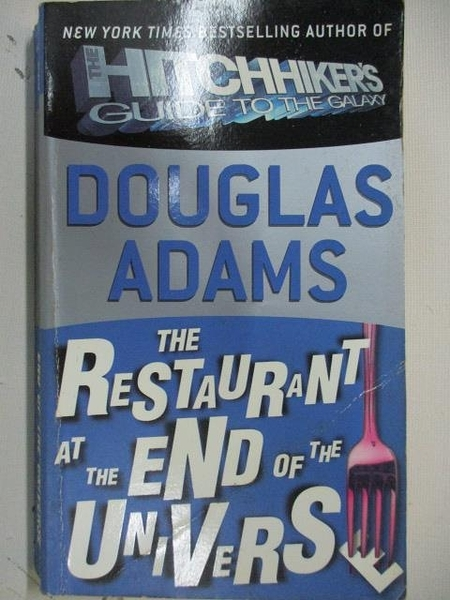【書寶二手書T9/原文小說_ALP】The Restaurant at the end of the Universe_Douglas Adams