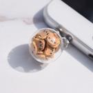 蘋果XsMax通用7P手機防塵塞充電口vivo安卓掛件吊墜oppo耳機 青木鋪子