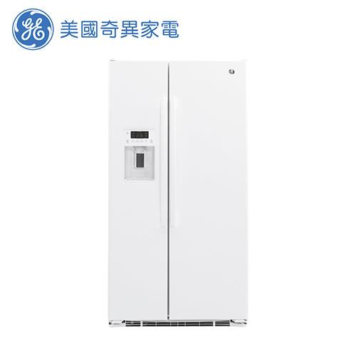 [GE 美國奇異家電]702公升薄型白色對開冰箱 GZS22DGWW