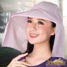 防曬帽子-女款抗紫外線UV高頂遮陽帽+可...