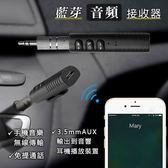 【CR0159】藍芽音頻接收器 AUX藍牙適配器 汽車手機免提通話拍照音樂無線傳輸到音箱耳機音響