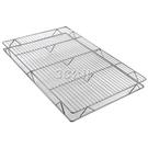 不銹鋼豬肉網燒烤網冷卻架蛋糕涼網豬肉放置晾網燒烤烘焙工具