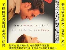 二手書博民逛書店Boy罕見Meets Girl:Say Hello to Cou