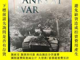 二手書博民逛書店German罕見Tanks at War【戰爭中的德國坦克】【大