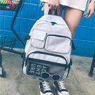 後背包  書包女學生 韓版原宿ulzzang校園潮背包港風多袋大容量個性後背包