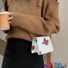 小方包 小眾設計迷你奶牛紋小方包2021春秋新款時尚側背腋下包手提斜背包寶貝計畫 上新
