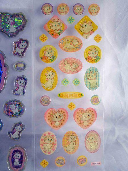 【震撼精品百貨】The Aristocats Marie 迪士尼瑪莉貓~貼紙 (粉亮、亮紫、銀亮、凸亮 )【共4款】