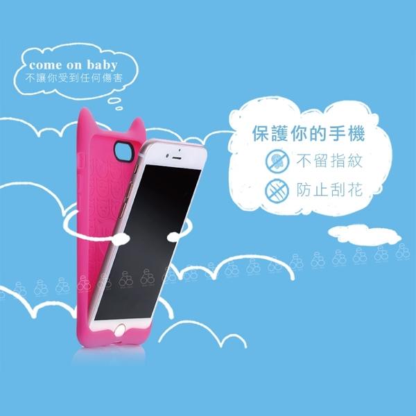 倍思 iPhone X / XS 小惡魔 手機殼 保護套 矽膠套 造型 可愛 軟殼 QQ 療癒 立體 手機套