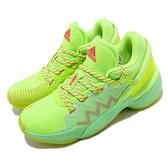 adidas 籃球鞋 D.O.N. Issue 2 GCA 綠 橘 男鞋 米邱 二代 運動鞋【ACS】 FW9035