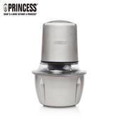 【PRINCESS 荷蘭公主】迷你雙刀食物處理機/不鏽鋼調理碗 221050