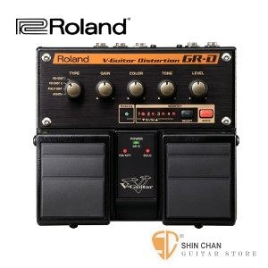 Roland GR-D 破音綜合效果器 另贈原廠9V變壓器 【內建GK效果器/V-Guitar Distortion GRD】