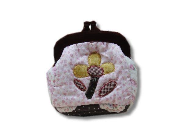 手工拼布包-童夢-零錢包--樣樣精品 都是唯一