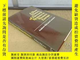 二手書博民逛書店A罕見Short History Of Electoral Systems In Western Europe