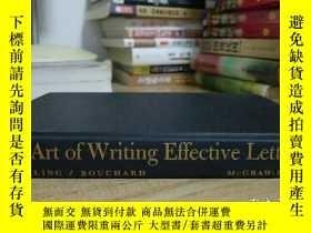 二手書博民逛書店The罕見Art of Writing Effective Le