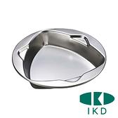 【IKD】抗菌ST三角餐盤 18cm K387050 餐盤 湯碗 隔熱碗餐具 戶外 露營 野炊