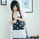 【快樂購】袖套頭防污防水全棉廚房用餐圍裙...