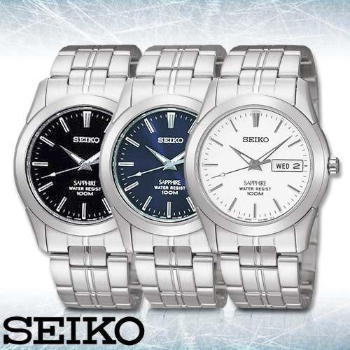 SEIKO 精工手錶專賣店 SGG713P1_SGG715P1_SGG717P1 男錶 石英錶 不鏽鋼錶帶 藍寶石水晶鏡面 防水100M