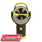 【Coleman 美國 BATTERYLOCK杯架風扇 萊姆綠】CM-27313/風扇/迷你電扇/攜帶型