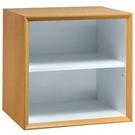 【藝匠】魔術方塊原木色大棚板櫃收納櫃 家具 組合櫃 廚具 收藏 置物櫃 櫃子 小櫃子