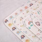嬰兒隔尿墊防水可洗純棉新生超大透氣幼兒園寶寶大號兒童床單床墊QM『艾麗花園』
