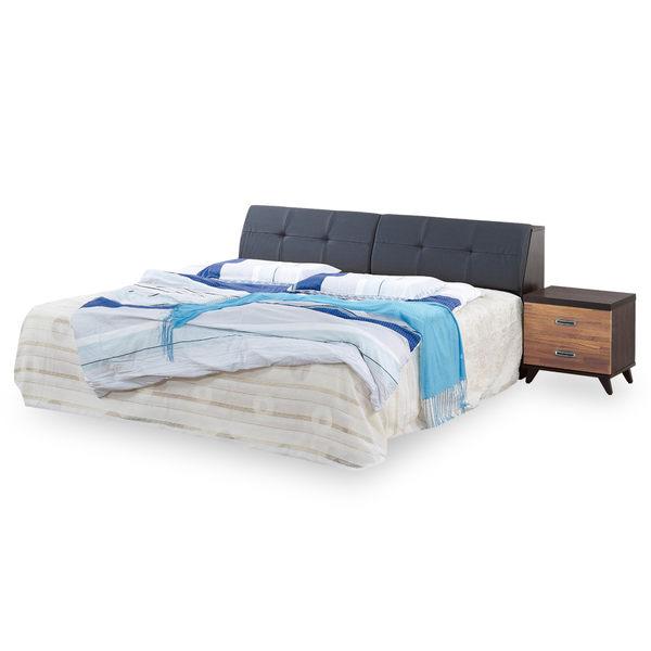 【時尚屋】[G18]斯賓塞積層木6尺加大雙人床G18-067-4+003-6不含床頭櫃-床墊/免運費/免組裝/臥室系列