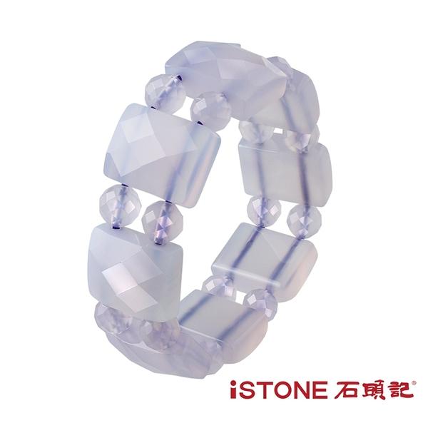紫玉髓手鍊-冰種帝王紫- 石頭記