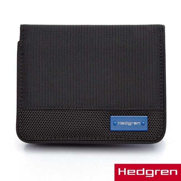 Hedgren - HBL- Blue Label 藍標商務系列-直式短夾-卡式-黑色
