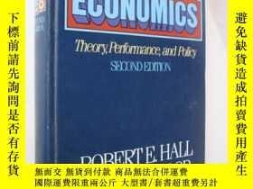 二手書博民逛書店Macro-Economics:罕見Theory,Perform