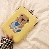 韓國ins可愛少女小考拉11寸IPAD平板內膽包13寸筆記本電腦收納袋 橙子精品