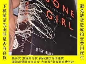 二手書博民逛書店德文原版書:Gone罕見Girl:Das Perfekte Op