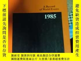 二手書博民逛書店The罕見Annual Register A Record of