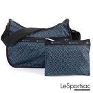 LeSportsac - Standard 側背水餃包/流浪包-附化妝包 (午後光韻) 7520P E438