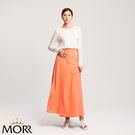 【MORR】Rainsk晴雨兩用一片裙【蜜桃橘】通勤/機車/兩件式/防曬裙