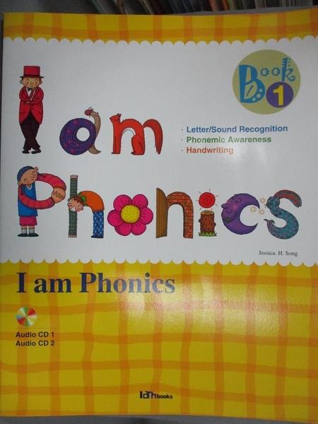 【書寶二手書T4/語言學習_XGB】I am phonics. Book 1_[Jessica H. Song]