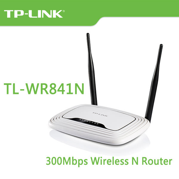 TP-LINK TL-WR841N V13.0 300Mbps Wireless N 路由器