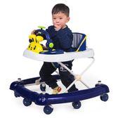 嬰兒童寶寶助學步車6/7-18個月多功能帶音樂防側翻可折疊手推可坐yw 交換禮物